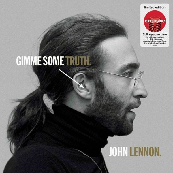 John Lennon Gimme Some Truth 12quot; 2LP Exclusive Opaque Blue Vinyl New Sealed
