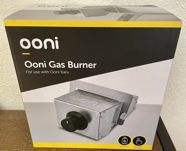 OONI GAS BURNER 3 or Karu 🍕 NEW Stainless for Propane Tank SOLD OUT EVERYWHERE