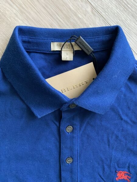 New Burberry Men Polo Shirt Small $74.95