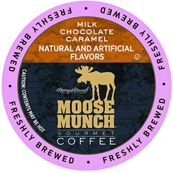 Moose Munch Coffee in Single Serve Cups for use with all Keurig K Cups Brewer...