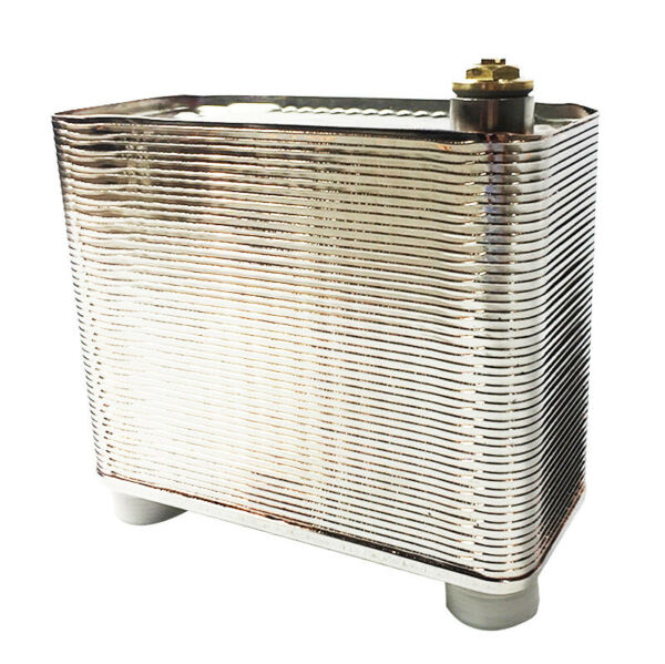 Details about 50 Plate Heat Water Exchanger 1 2#x27;#x27; 1#x27;#x27; MPT Ports Heating System $94.00