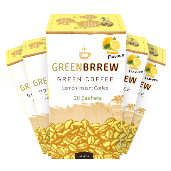 Greenbrrew Lemon Green Coffee Beans Extract for Weight Loss 300g 5 61t