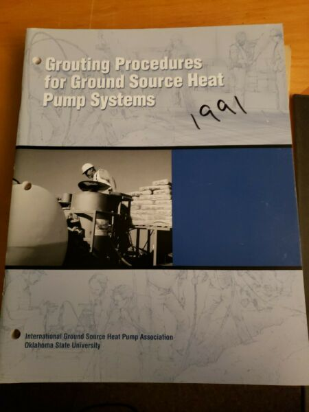 Grouting Procedures for Ground Source Heat Pump Systems $29.95