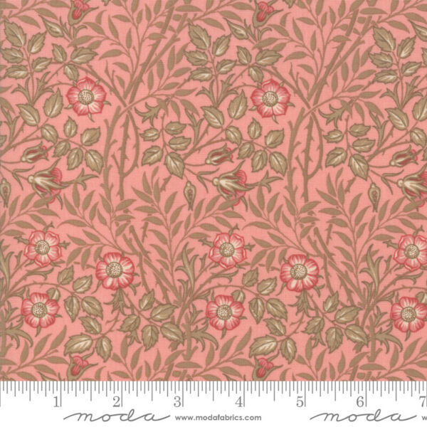 Best of Morris Spring Rose 33494 12 by V amp; A Company for Moda Fabric half yard