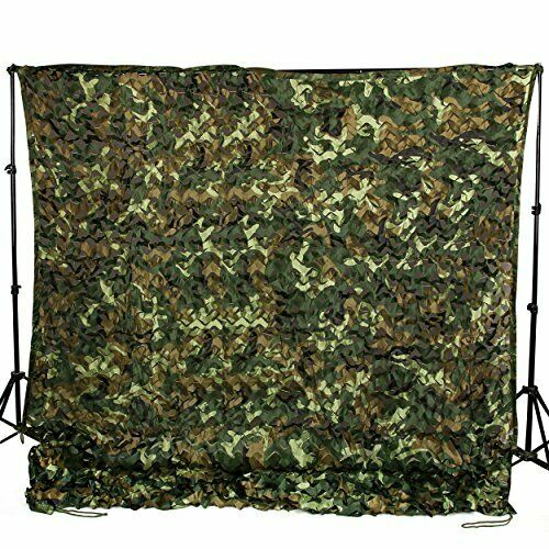 Woodland Camouflage Netting Desert Camo Net For Camping Hide Decor 6.5x10 ft NEW
