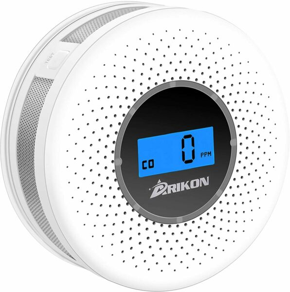 Smoke and Carbon Monoxide Detector Combo with Sound Warning and Number Display $24.95