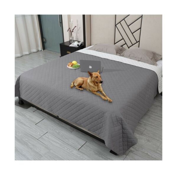 Waterproof Dog Bed Cover Washable Pet BlanketReusable Dog Cover for Couch wi... $50.72