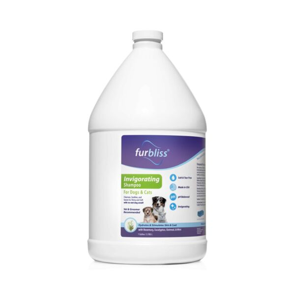 Furbliss Dog Shampoo with Essential Oils Leaves No Wet Dog Smell Cleans and... $56.96