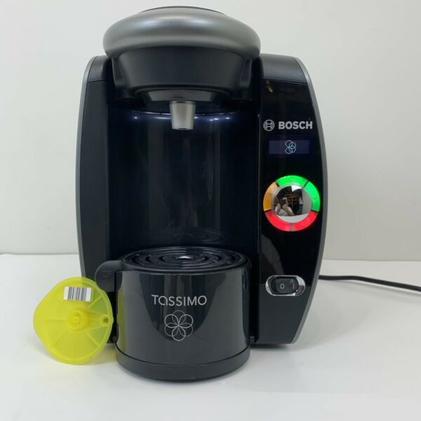 Bosch Tassimo T65 Coffee Maker Black Gray TAS6515UC Descaled Cleaned Tested 6c