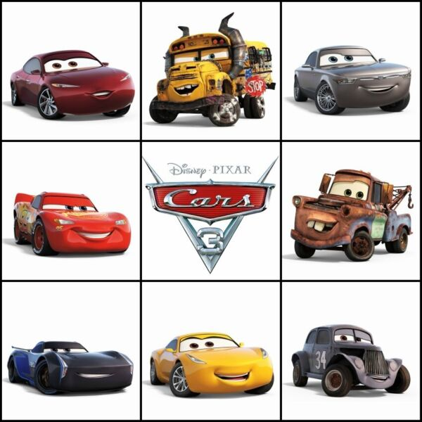 2021 As seen in Disney Pixar Cars 3 Metal Series Mattel 1:55 Scale Die Cast