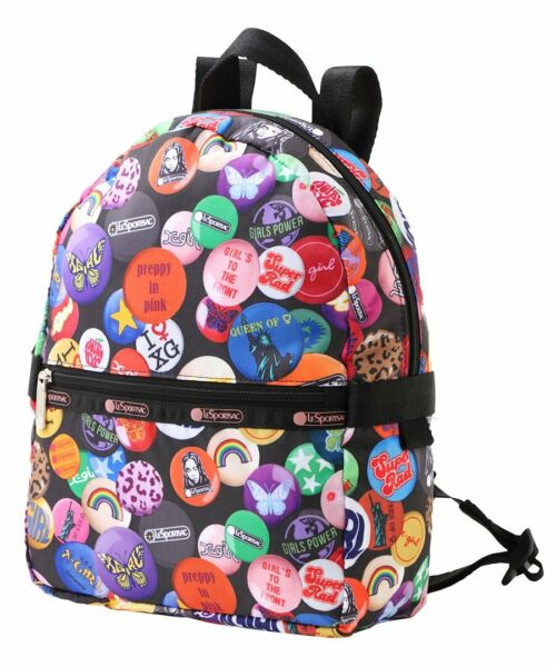 New LeSportsac X Girl Collection SMALL Carrier Backpack in X Girl Memories $69.99