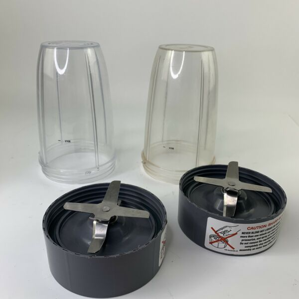 Replacement Cups And Blades ONLY For NutriBullet NBR 0801 600W Blender $18.00