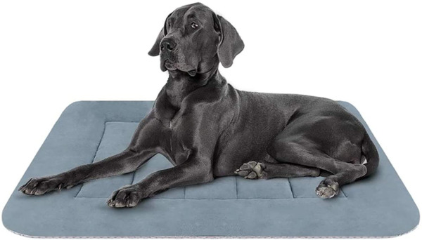 Hero Dog Large Dog Bed Crate Pad Mat 42 Inch Washable Matteress Anti Slip Cushio $37.72