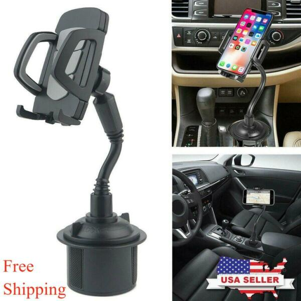 New Universal Adjustable Car Mount Gooseneck Cup Cradle Holder for Cell Phone #1 $10.29