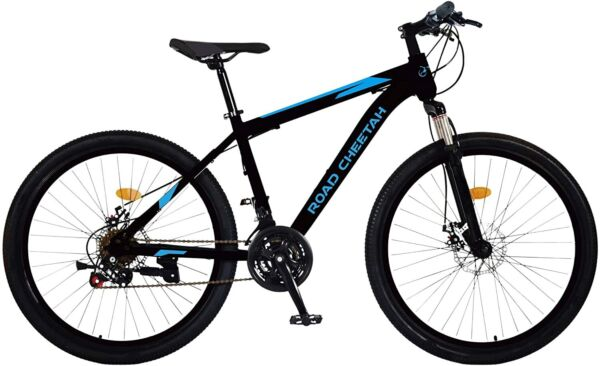 Road Cheetah 27.5 Inch Mountain Bike 21 Speed Aluminum Frame Disc Brake $249.99