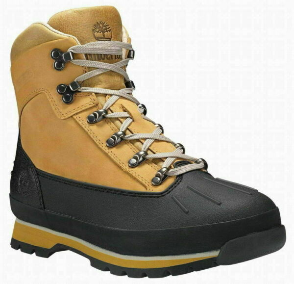 Timberland Men#x27;s Euro Hiker Shell Toe Leather Boots. Color Wheat. Choose Size $129.95