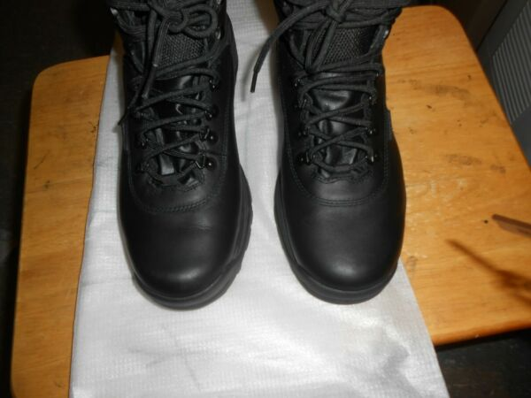 Mens Timberland White Ledge Waterproof Mid Hiker 12122 Black Boots PRE OWNED $45.00