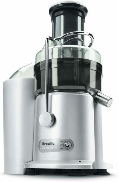 Breville JE98XL Juice Fountain Plus Centrifugal Juicer Stainless Steel New
