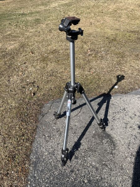 Bogen Model 3011 Tripod And Head No Handle B