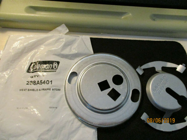 Coleman Heat Shield w Lower Burner Frame PN # 288A5401 Made in USA $14.99