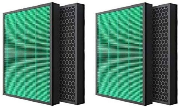 Max2 True HEPA Filter Carbon For Coway Airmega 400 400S Air Purifier 4 Filters $81.99