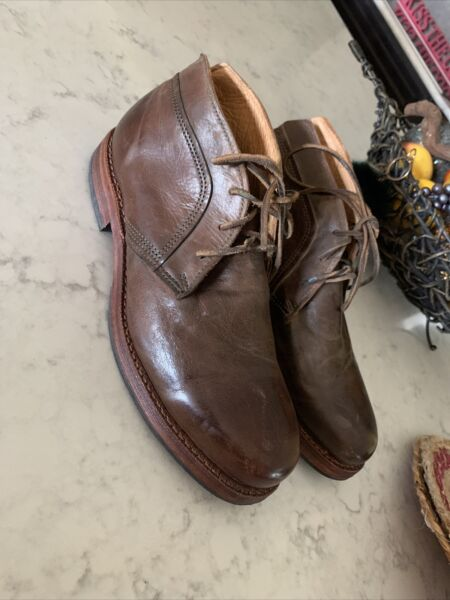 Timberland Boot Company Wodehouse Men Brown Leather Chukka Boots US 9 M $45.99