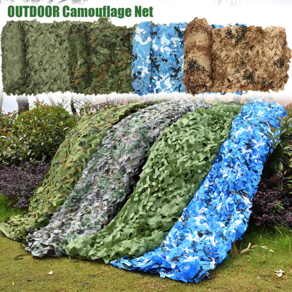 Woodland Army training Camouflage Nets Car Covers Camo Netting Tent Shade