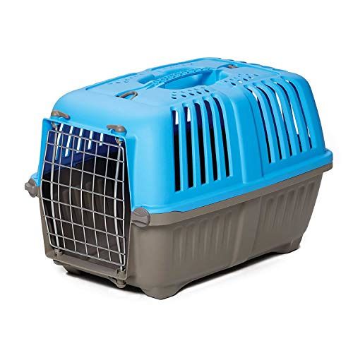 Pet Carrier: Hard Sided Dog Carrier Cat Carrier Small Animal Carrier in Blue $25.43
