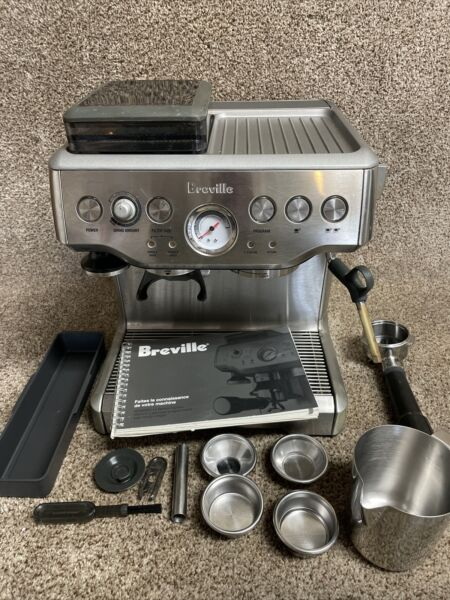 Breville the Barista Express Espresso Machine Stainless Steel BES860XL AS is
