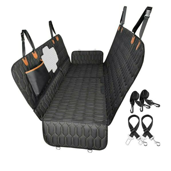 4 in 1 Dog Car Seat Cover OKMEE Convertible Dog Hammock Scratchproof Pet Car $46.97