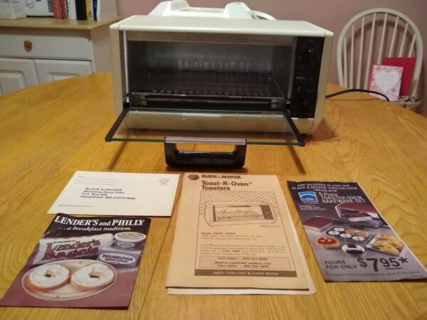 New Black and Decker Toaster Oven Spacemaker TRO 20 $230.00