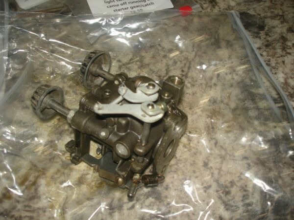Evinrude 3hp light twin carburetor outboard boat motor part b 722 $79.99