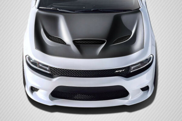 2015 2021 Dodge Charger Carbon Creations Hellcat Look Hood 112615 $784.00
