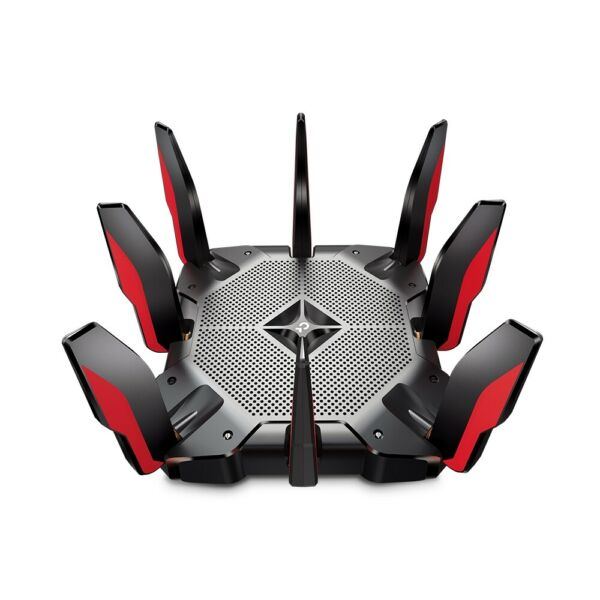 TP Link Next Gen AX11000 12 Stream Tri Band Wi Fi 6 Gaming Router