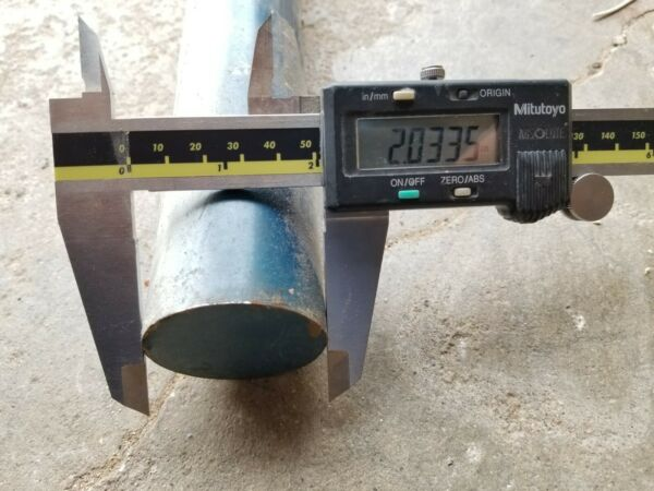 O1 Tool Steel 2quot; Round 36quot; long rod bar O 1 01 0 1