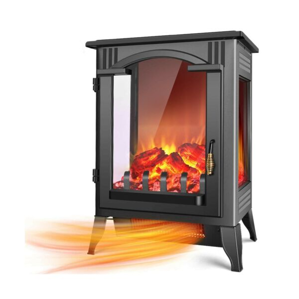 TRUSTECH Electric Fireplace Heater 1500W 750W Infrared Fireplace Heaters ...