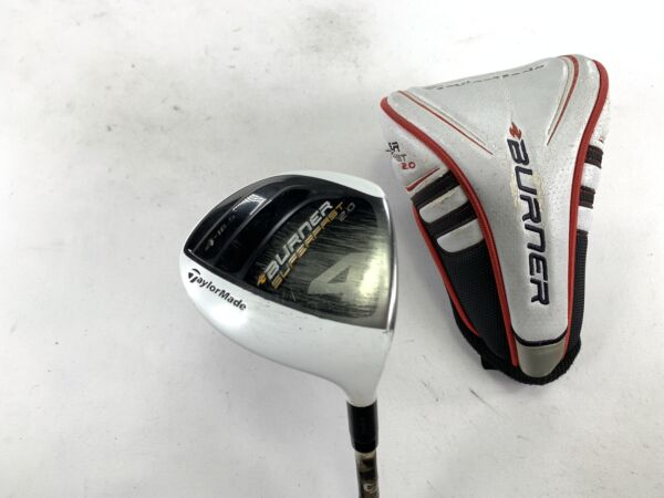 Taylormade Burner Superfast 2.0 4 Fairway Wood 16.5* REAX Senior Graphite RH HC