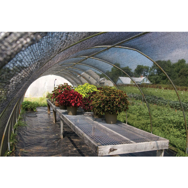 70% Black SunBlock Shade Cloth for Garden Pergola Canopy Plant Cover 6ft x16ft