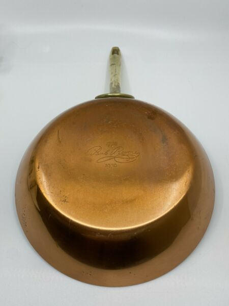 """Paul Revere Copper Cookware 1776 1976 Limited Edition 8.5"""" Pan"""