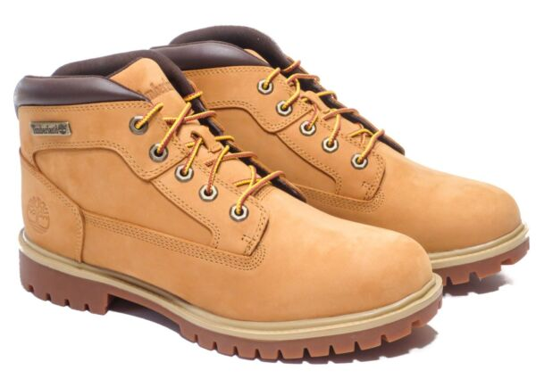Timberland Men#x27;s New Market Wheat Hiking Boots Style 6301R $99.95
