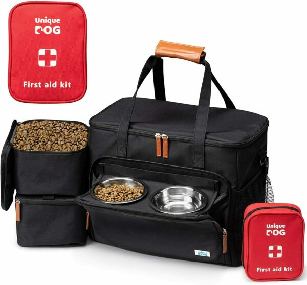 Unique Dog Travel Bag Dog Traveling Luggage Set for Dogs Accessories ... $57.53