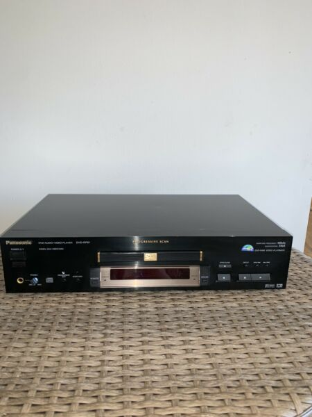 Panasonic DVD RP91 Progressive Scan DVD Audio Video Player without remote