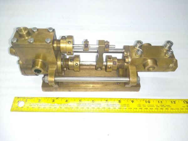 Very Nice Larger Steam Engine Boiler Feed Water Pump Professionally Built $1250.00