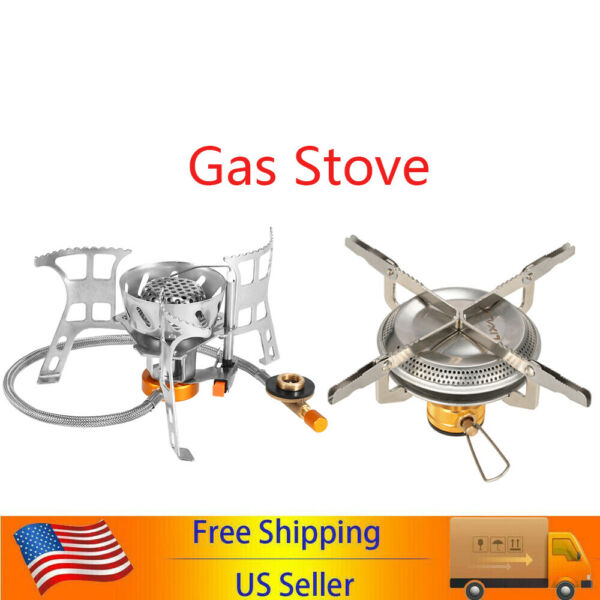 Travel Portable Gas Stove Mini Picnic Cooking Burner Stove Outdoor Camping Stove