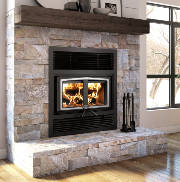 Osburn Everest II Wood Fireplace w Blower EPA Approved Free Shipping $3999.00