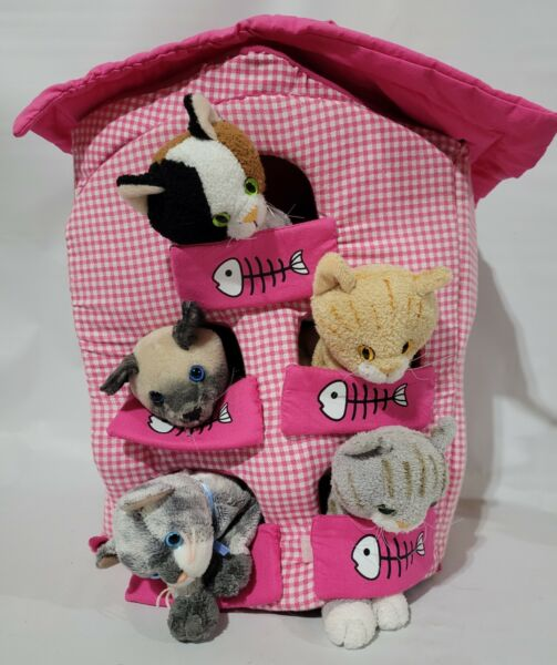 Toy Carrier For Stuffed Animals Cats Included Carrying Case $18.99