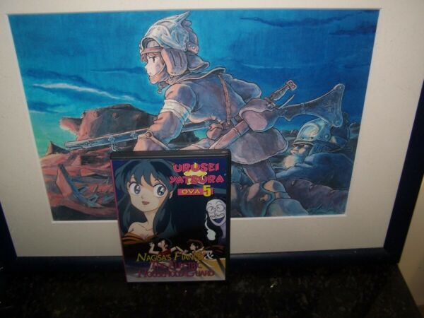 Urusei Yatsura OVA Vol 5 Nagisa#x27;s Fiance amp; Electric House Hold Guard Anime DVD