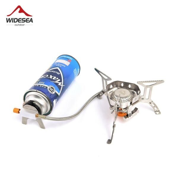 Widesea Camping Gas Burner Outdoor Tourist Stove Bbq Barbecue Picnic Equipment