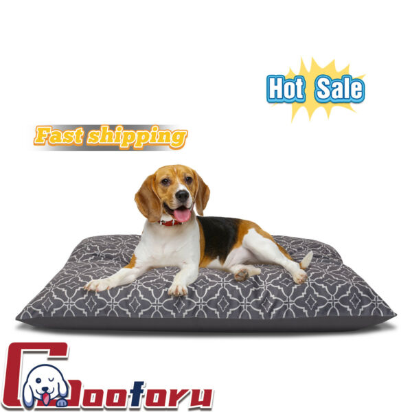 🐶Vibrant Life🐶Pillow Style Dog Bed for Large Dogs(🇺🇸stock $16.88