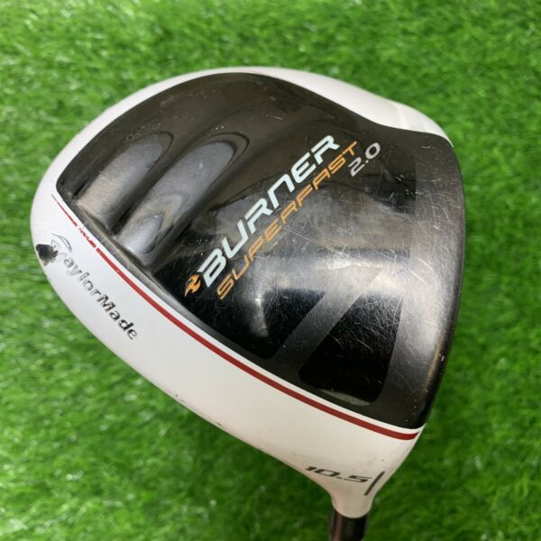 TaylorMade Burner Superfast 2.0 Driver 10.5°Lite Senior Flex PLEASE READ RH